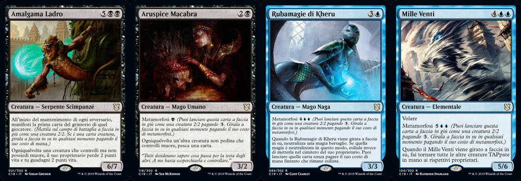 Minaccia Senza volto deck magic commander 2019