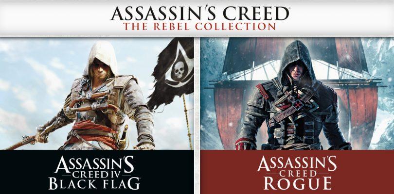 Assassin's Creed The Rebel Collection: disponibile da oggi