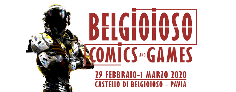 BELGIOIOSO COMICS & GAMES 2020