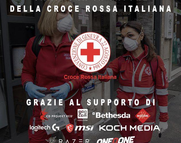 Covid-19: continua il supporto della gaming industry alla Croce Rossa Italiana