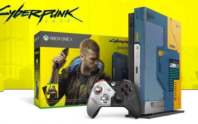 Xbox One X: Limited Edition dedicata a CyberPunk 2077 ufficialmente in vendita
