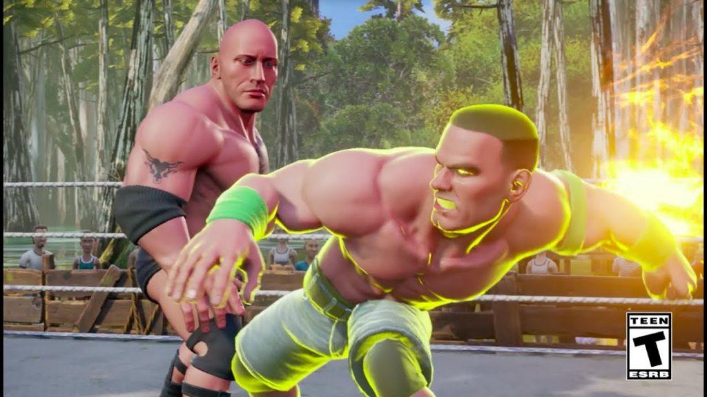 WWE 2K Battlegrounds 3