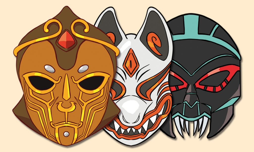 Mask'd - The divine children: il fumetto italiano dalle tinte orientali