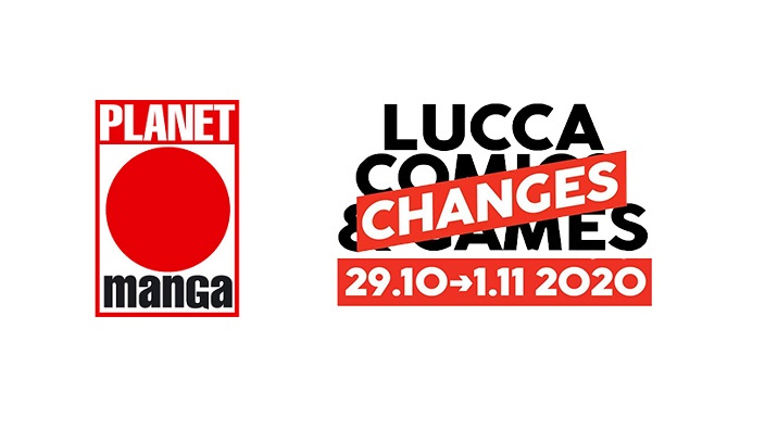 Annunci Lucca Changes 2020 – Planet Manga