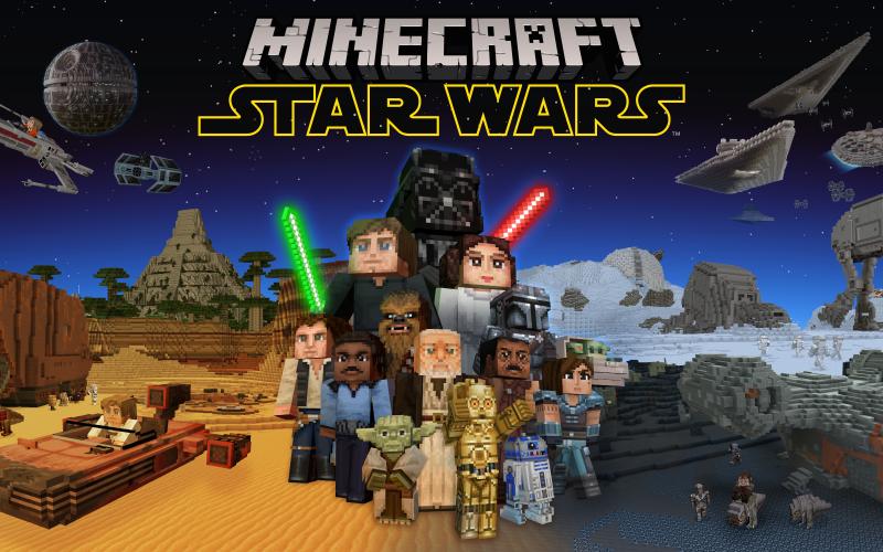 Minecraft riceve un nuovo DLC basato sul mondo di Star Wars
