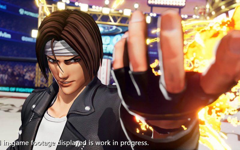 SNK mostra un primo trailer per The King of Fighters XV